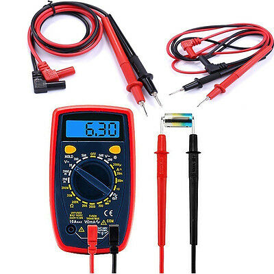 BL_ High Quality Universal Digital Multimeter Test Lead Probe Wire Pen Cable Nov