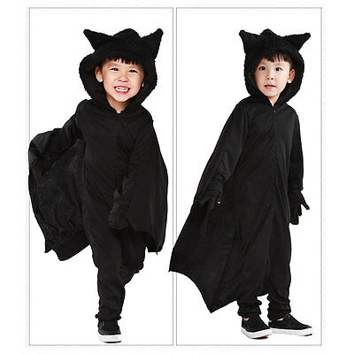 kinder vampir fledermaus fl gel halloween cosplay cape. Black Bedroom Furniture Sets. Home Design Ideas