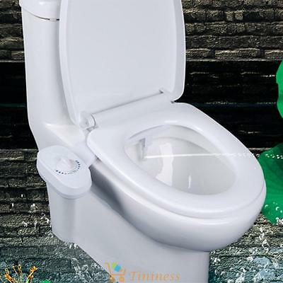 Bidet Toilet Seat Attachment Single Nozzle Sprinkler Cleaner Non Electric Spray