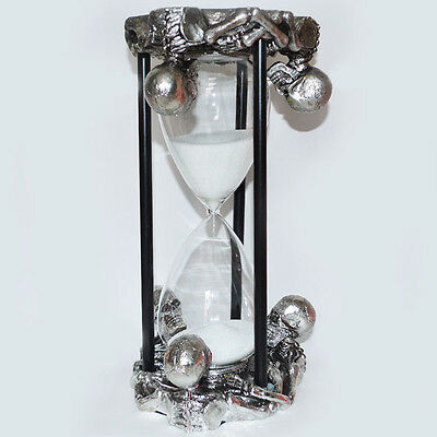 Large Skeleton Egg Timer | Halloween Prop | Decoration | Gothic | Cool | Rare