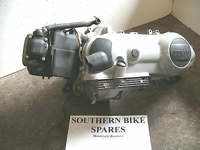 2003 Piaggio Skipper ST 125 4T Complete Engine 5,692miles *BIKE BREAKING* Motor