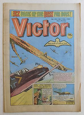 VICTOR Comic #1221 - 14th July 1984