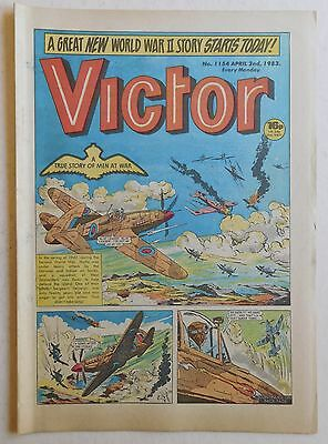 VICTOR Comic #1154 - 2nd April 1983