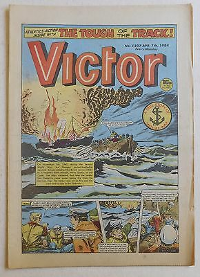 VICTOR Comic #1207 - 7th April 1984