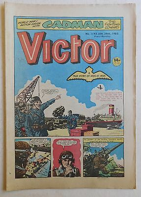 VICTOR Comic #1145 - 29th January 1983