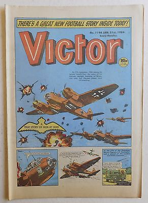 VICTOR Comic #1196 - 21st January 1984