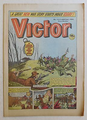 VICTOR Comic #1215 - 2nd June 1984