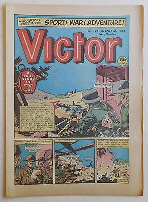 VICTOR Comic #1151 - 12th March 1983