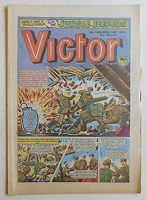 VICTOR Comic #1208 - 14th April 1984
