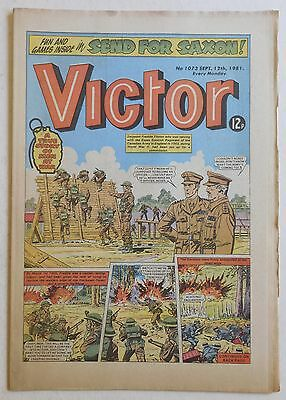 VICTOR Comic #1073 - 12th September 1981