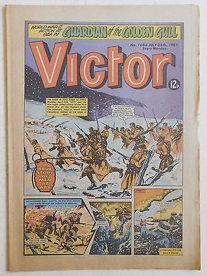 VICTOR Comic #1066 - 25th July 1981