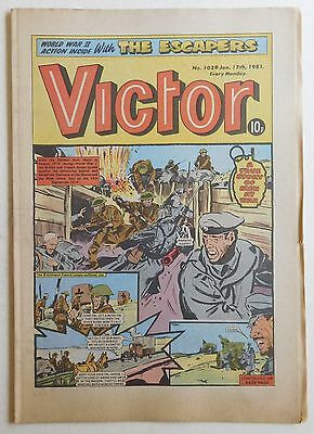 VICTOR Comic #1039 - 17th January 1981