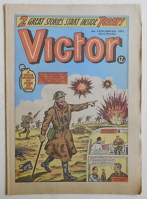 VICTOR Comic #1059 - 6th June 1981