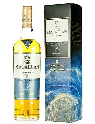 Macallan 12 Years Old - Fine Oak Ernie Button Limited Edition