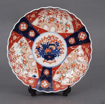 Imari Chinese porcelain Export Japanese Charger Plate Hand painted Antique Rare