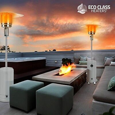 Eco Class Heaters GH 12000W Gas Patio Heater, Outdoor Garden Terrace Heat System