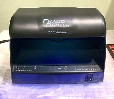 Fraud Fighter UV-16 by Uveritech Cash US Currency Counterfeit Bill Checker