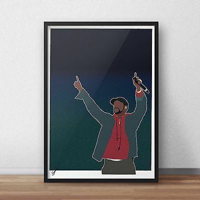 YNW Melly INSPIRED WALL ART Print Poster Minimal A4 A3 Mixed Personalities rap