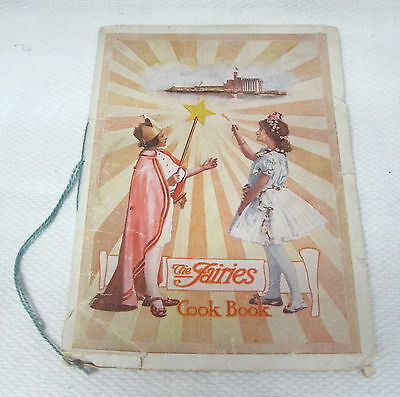 1924 The Fairies Cook Book Fisher Flouring Mills Seattle Washington Orig T18