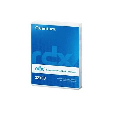 Quantum RDX 320GB Removable Disk Cartridge Part # MR032-A01A USED
