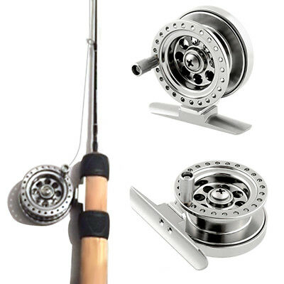 FT- Aluminum Alloy Ice Fishing Reel Super Strong Sea Fly Line Wheel Accessory Sp