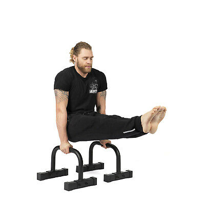 Gravity Fitness Parallettes for Crossfit, Calisthenics, Gymnastics & Body weight