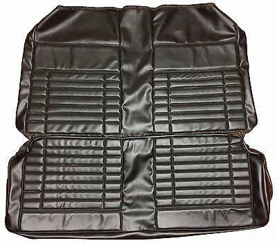 1972 Duster Demon Back Seat Cover Rear Seat Covers Black Vinyl PUI In Stock