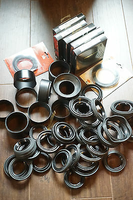 WHOLESALE LOT - Camera Store Stock - Used + New Lens Hoods Mixed Rubber