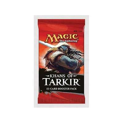 MTG KHANS OF TARKIR Booster Pack (15 cards) New and Sealed Pack