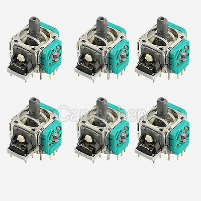 6Pcs Replacement Analog 3D Stick Joystick Module For Xbox One PS4 Controller