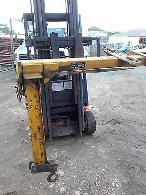 SIMPLEX Arm hoist to forclift Boss Linde Still loading 2200 lbs/ 1 tone