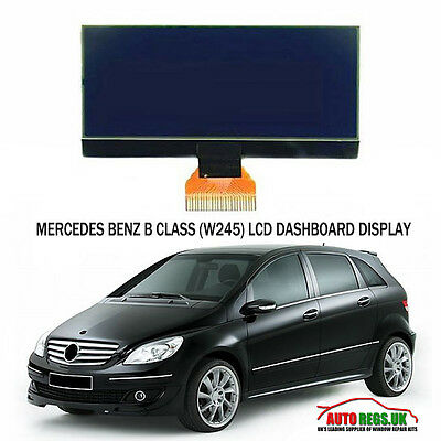 Mercedes Benz Classe B W245 LCD VDO SCHERMO DISPLAY QUADRO STRUMENTI CRUSCOTTO