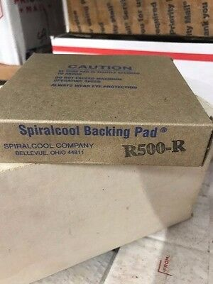 Spiralcool Backing Pad R500-R Lot of 5