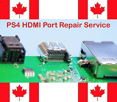 PS4 Playstation 4 Broken HDMI Port Repair Replacement Service