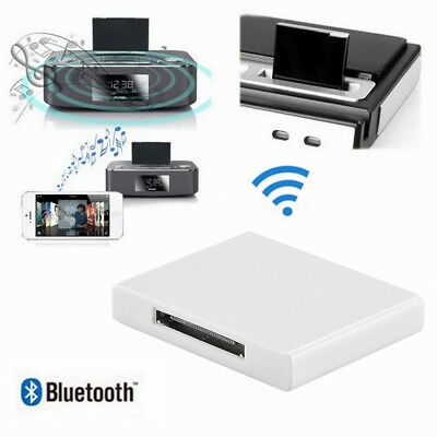 bluetooth wireless iphone ipad ipod receiver adapter. Black Bedroom Furniture Sets. Home Design Ideas