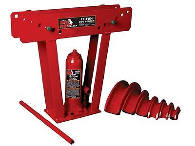 Torin Big Red T31202 Hydraulic Pipe Tube Bender 12 Ton Capacity