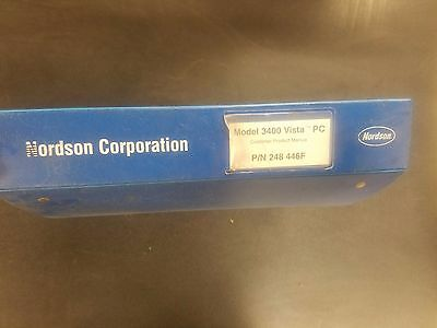Nordson Series 3400 Vista PC Manual