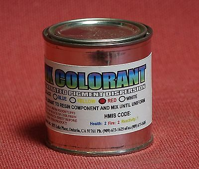 Red Colorant Paste 4 Epoxy Resin Color Pigmenting Tinting Coloring For Art Pour^