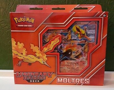 S*K Pokemon - Moltres EX Legendary Battle Deck Unopened New In Box