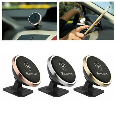 360° Rotating Car Holder Baseus Universal Magnetic Mount Stand for Cell Phone
