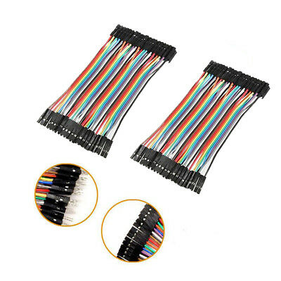 Hot 40pcs Female to Female Dupont Wire Jumper Cable for Breadboard Groupcow