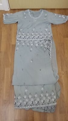 SARI INDIAN BOLLYWOOD PARTY WEAR SAREE PAKISTANI salwar kameez WEDDING BRIDAL