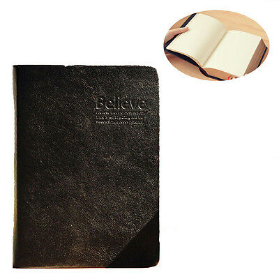Vintage Bible Diary Book Journal Agenda Planners Notebook Leather Sketch Notepad