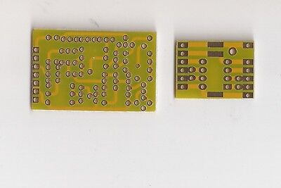 Discrete single opamp Earth bare PCB JFET input /output  high biasing current !