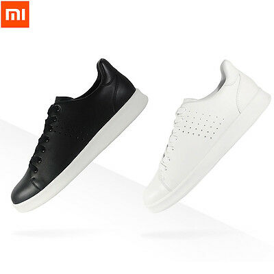 Xiaomi Mijia Free Tie Plate Shoes Comfortable Anti-slip Genuine Leather Shoes
