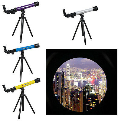 Child Astronomical Powerful Telescope Stargazing Educational Kid Toy With Tripod