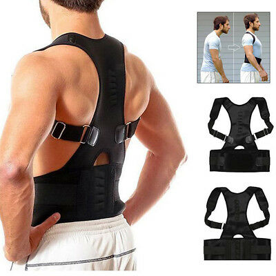 Magnetic Neoprene Brace Shoulder Therapy Support Lumbar Posture Corrector Belt