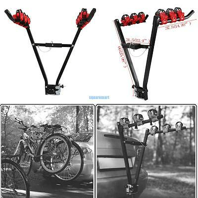 1xCar Rear Tow Bar Towbar Towball Mount Cycle Rack Carrier Folding Triple/3 Bike