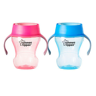 Tommee Tippee 360 Mealtime Trainer Cup (Blue or Pink)