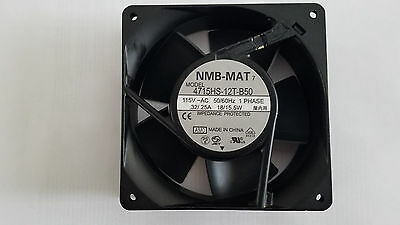 120mm NMB 4715HS-12T-B50-AM0 115VAC, WEATHER RESISTANT COOLING FAN - NEW